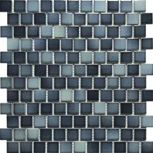 Light 1″ x 1″ (Sea Breeze Series) Porcelain Pool Tile
