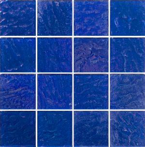Cobalt 3″ x 3″ (Piazza Series) Glass Pool Tile