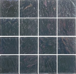 Grey 3″ x 3″ (Piazza Series) Glass Pool Tile