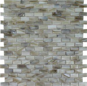 Jade 1/2″ x 1″ (Aurora Series) Glass Pool Tile