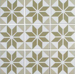 Verde 6″ x 6″ (Ancient Floridita Series) Porcelain Pool Tile