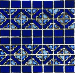 Terra Blue Mosaic (Aqua Series) Porcelain Pool Tile