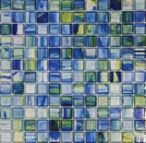 Canterbury 1″ x 1″ (Artglas Series) Glass Pool Tile