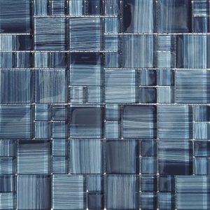 Marine Mixed (Bamboo Series) Glass Pool Tile