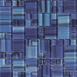 Royal Mixed (Bamboo Series) Glass Pool Tile