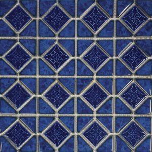 Blueberry Mosaic (Mini Akron Series) Porcelain Pool Tile