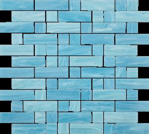 Caspian Mixed (Dash Series) Glass Pool Tile