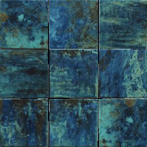 Green 6″ x 6″ (Coral Series) Porcelain Pool Tile