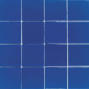 Cobalt 3″ x 3″ (Crystal Series) Glass Pool Tile