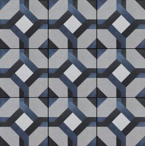 Laure 6″ x 6″ (Fleur Series) Porcelain Pool Tile