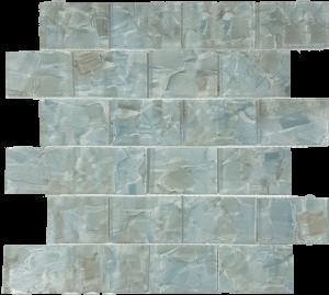 Hiyacinth 2″ x 3″ (Flower Glass Series) Glass Pool Tile