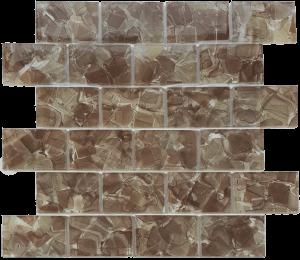 Poppy 2″ x 3″ (Flower Glass Series) Glass Pool Tile