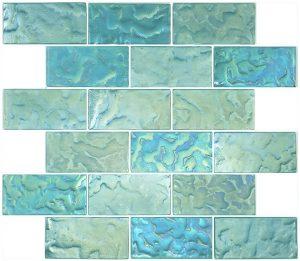 Jade 2″ x 4″ (Subway Series) Glass Pool Tile