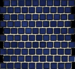 Cobalt Blue 1″ x 1″ (Harmony Series) Porcelain Pool Tile