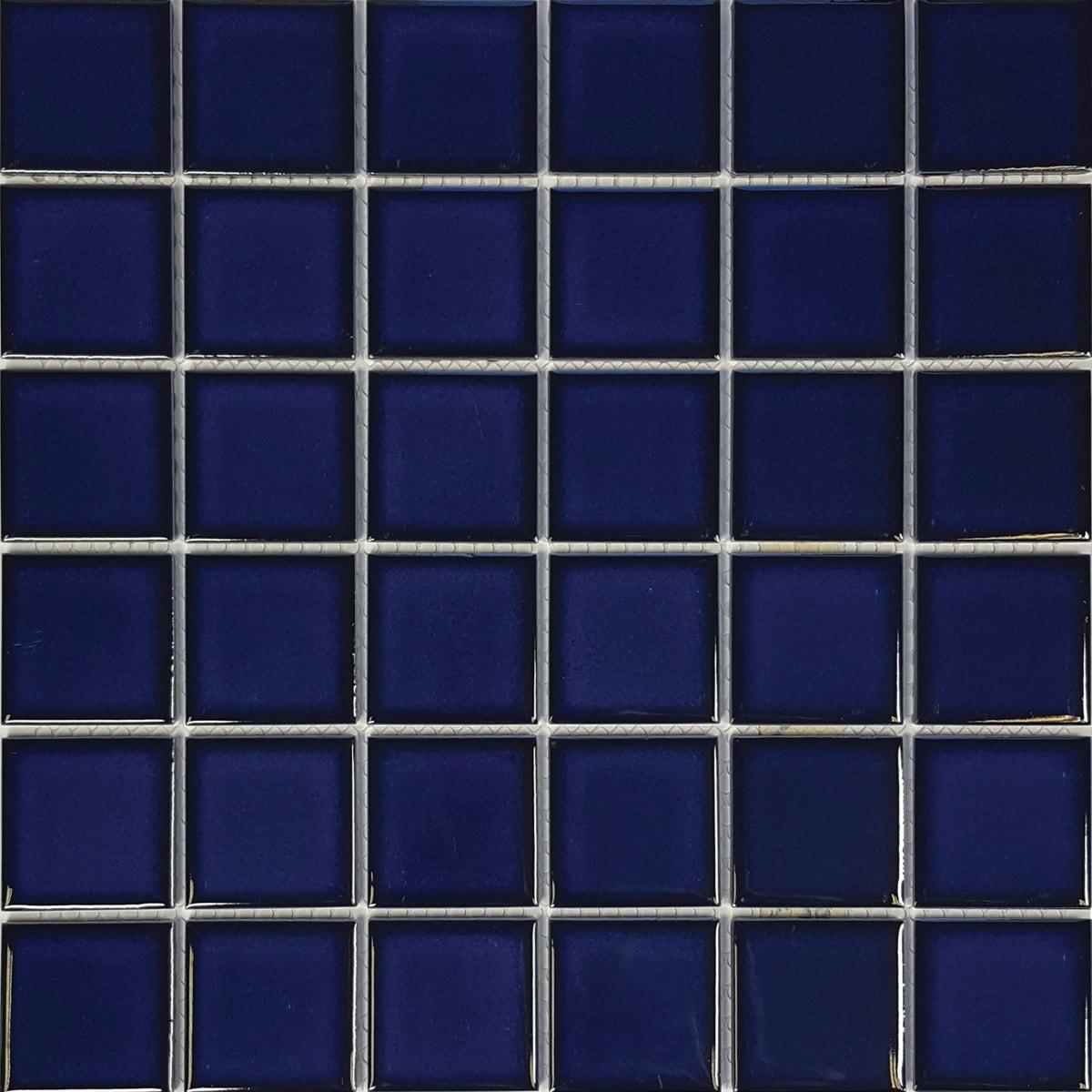 Cobalt Blue 2″ x 2″ (Harmony Series) Porcelain Pool Tile