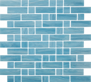 Ionian Mixed (Dash Series) Glass Pool Tile