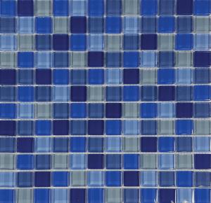 Bali 1″ x 1″ (Island Blends) Glass Pool Tile