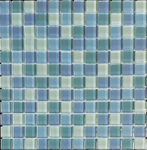 Fiji 1″ x 1″ (Island Blends) Glass Pool Tile