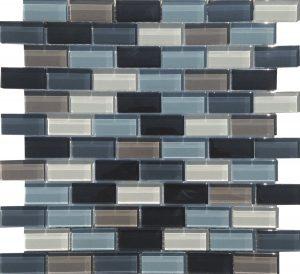 Key Largo 1″ x 2″ (Island Blends) Glass Pool Tile