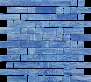 Labrador Mixed (Dash Series) Glass Pool Tile