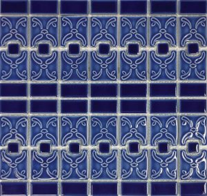 Blueberry Mosaic (Luciana Series) Porcelain Pool Tile