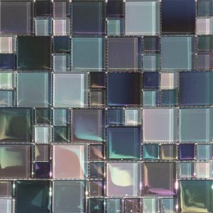 St George Mixed (Lux Aqua Series) Glass Pool Tile