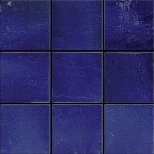 Atlantico Blue 6″ x 6″ (Melange Series) Porcelain Pool Tile