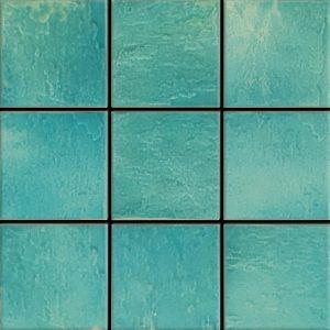 Pacifico Acqua 6″ x 6″ (Melange Series) Porcelain Pool Tile