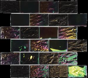Laguna Black 2″ x 3″ (Nautical Series) Glass Pool Tile