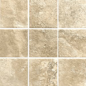 Beige 6″ x 6″ (Pietra Roma Series) Porcelain Pool Tile