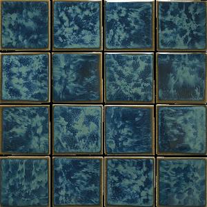 Gulf Blue 3″ x 3″ (Reflection Series) Porcelain Pool Tile