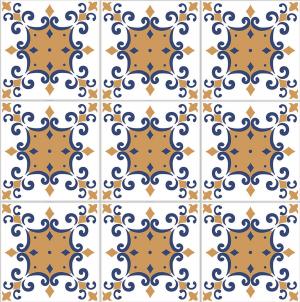 San Sebastian 6″ x 6″ (Ancient Series) Porcelain Pool Tile