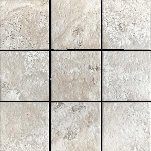 White 6″ x 6″ (Scavo Series) Porcelain Pool Tile