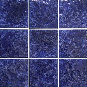 Navy 6″ x 6″ (Summer Series) Porcelain Pool Tile