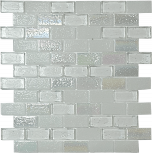 Iceberg 1″ x 2″ (Superior Series) Glass Pool Tile