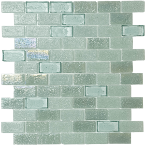 Seagrass 1″ x 2″ (Superior Series) Glass Pool Tile
