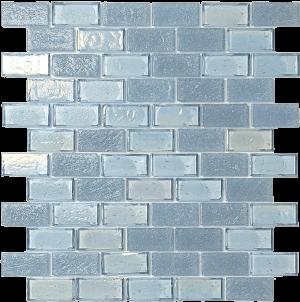Shark 1″ x 2″ (Superior Series) Glass Pool Tile