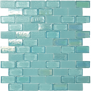 Surf 1″ x 2″ (Superior Series) Glass Pool Tile