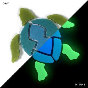 Glow in the Dark Turtle Pool Mosaics