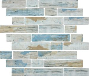 Bay Multi-Linear (Bark Series) Glass Pool Tile