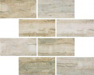 Cinnamon 3″ x 6″ (Bark Series) Glass Pool Tile