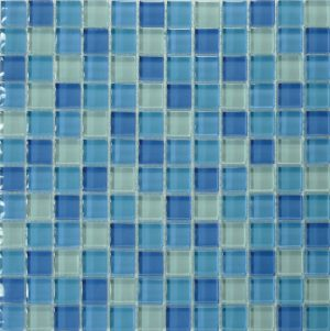 Maui 1″ x 1″ (Island Blends) Glass Pool Tile