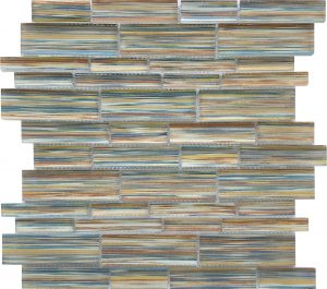 Edon Shoal Linear Mixed (Altona Series) Glass Pool Tile