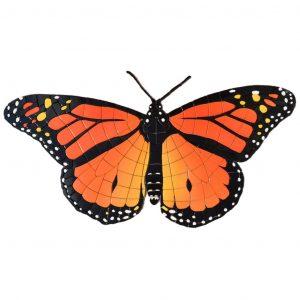 Monarch Butterfly Pool Mosaics