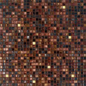 Obsidian 3/8″ x 3/8″ (Gold Series) Glass Pool Tile