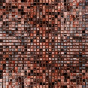 Carnelian 3/8″ x 3/8″ (Mixed Series) Glass Pool Tile