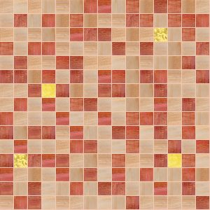Cheerful 3/4″ x 3/4″ (Gold Series) Glass Pool Tile