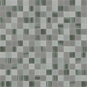 Foggy 3/4″ x 3/4″ (Mixed Series) Glass Pool Tile