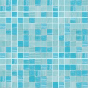 Limpid 3/4″ x 3/4″ (Mixed Series) Glass Pool Tile