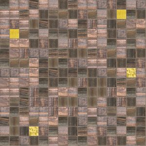 Misty 3/4″ x 3/4″ (Gold Series) Glass Pool Tile